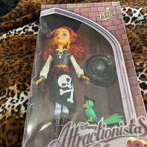 Disney Parks Attractionistas Pearl Doll NIB